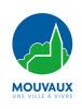 Logo blanc ville de mouvaux 1