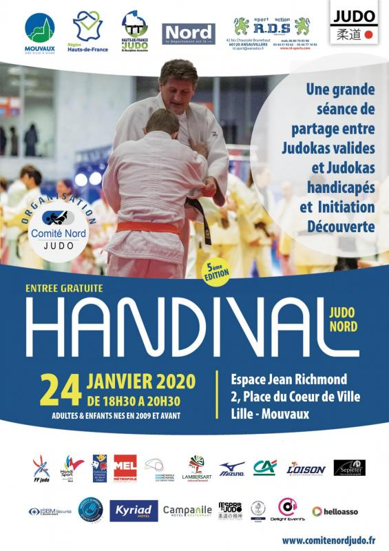 Affiche Handival 2020