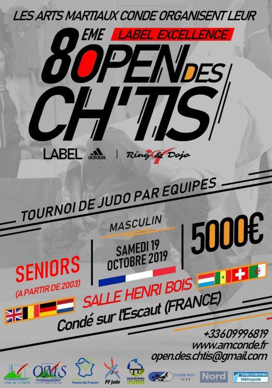 Affiche Open des Ch'tis 19/10/2019