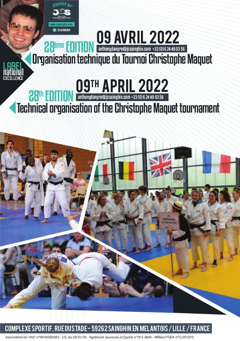 Affiche tournoi sainghin 2022