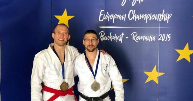 Championnat d'Europe Jujitsu-Ne Waza à Bucarest